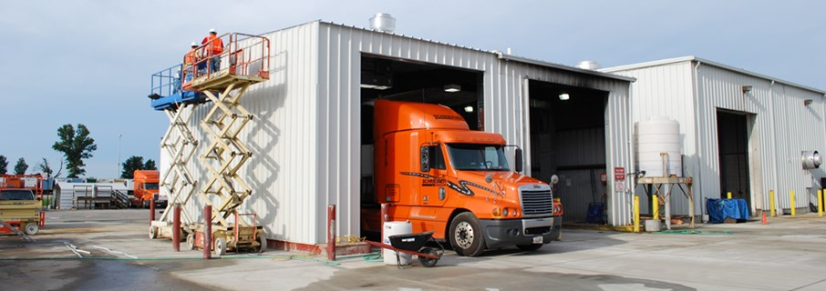 Truckers Wash Bay Addition